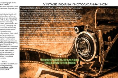 Vintage Indiana Photo Scan-A-Thon