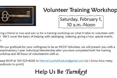 Volunteer Training Workshop