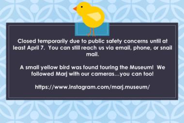 Museum Temporarily Closed